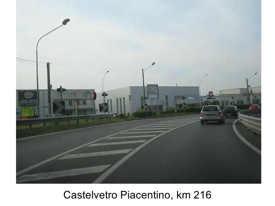Castelvetro Piacentino, km 216