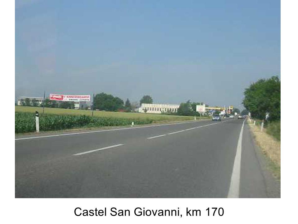 Piacenza, bivio Ss9 per Milano, ponte sul Po