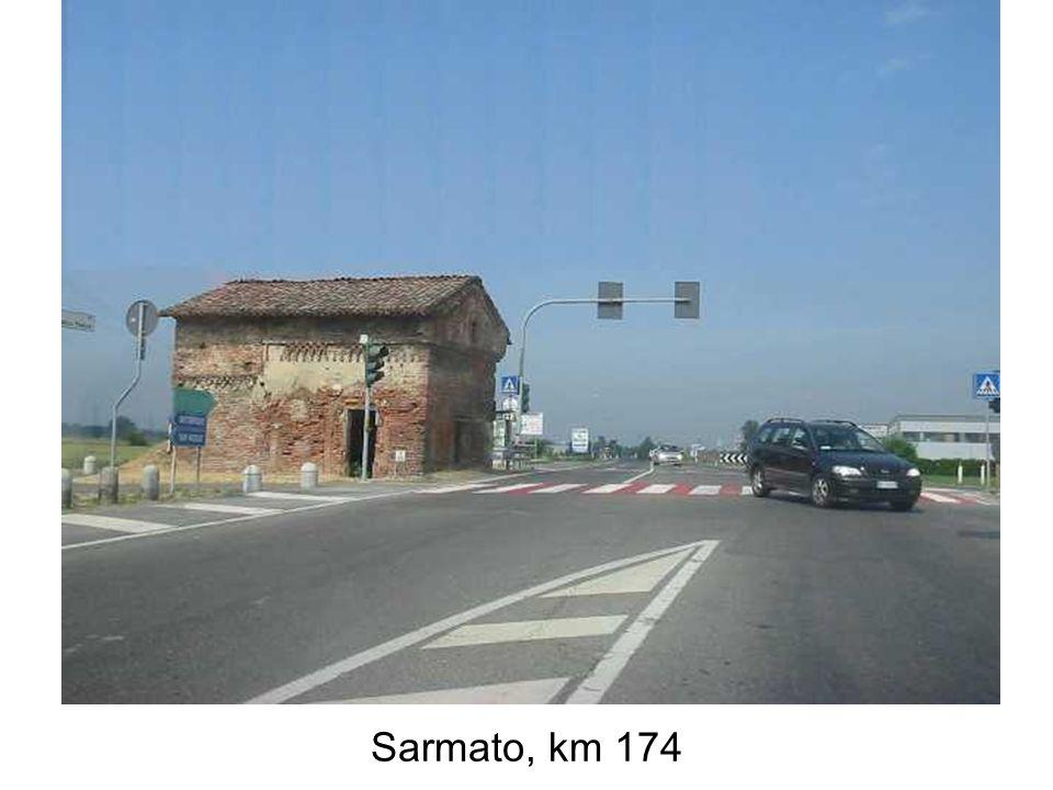 Sarmato, km 174