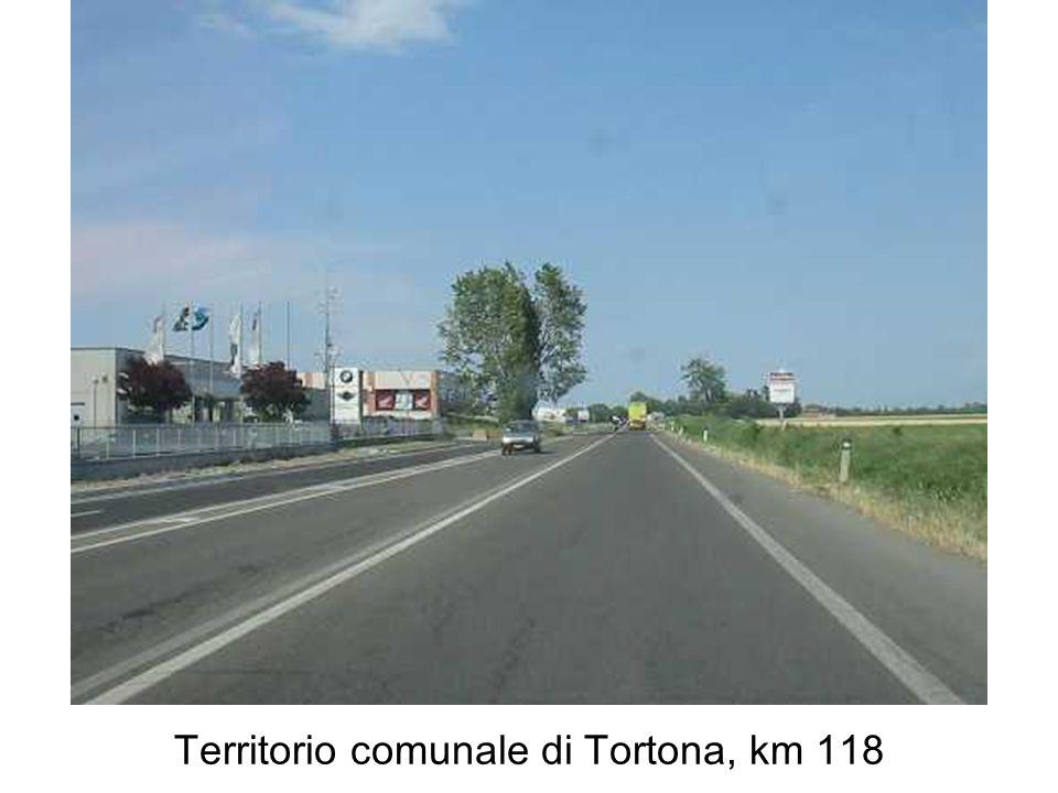Territorio comunale di Tortona, km 118