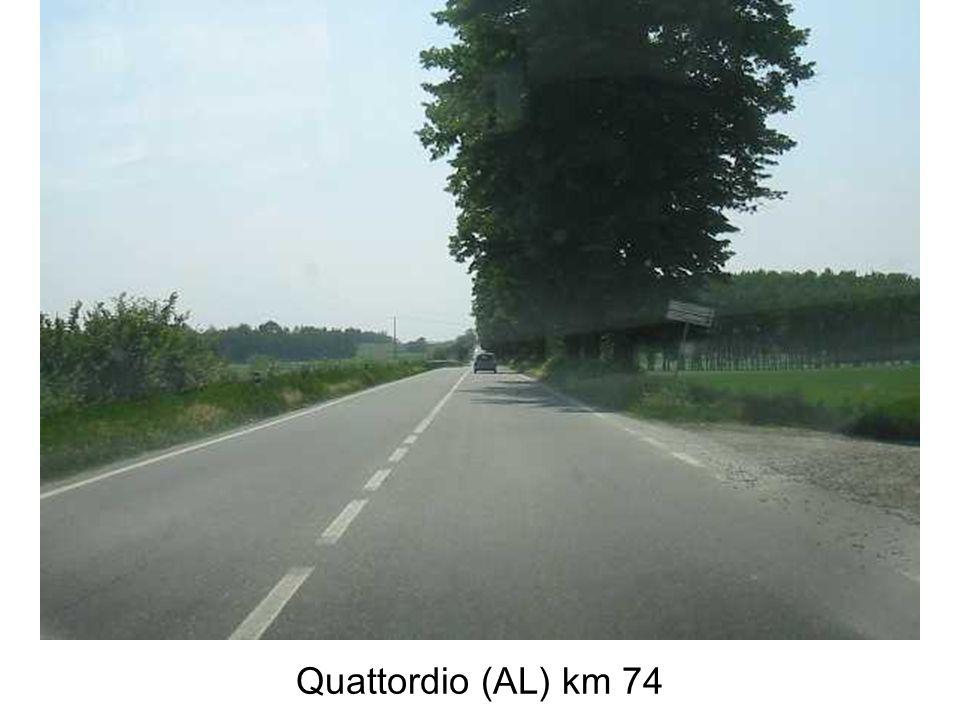 Quattordio (AL) km 74
