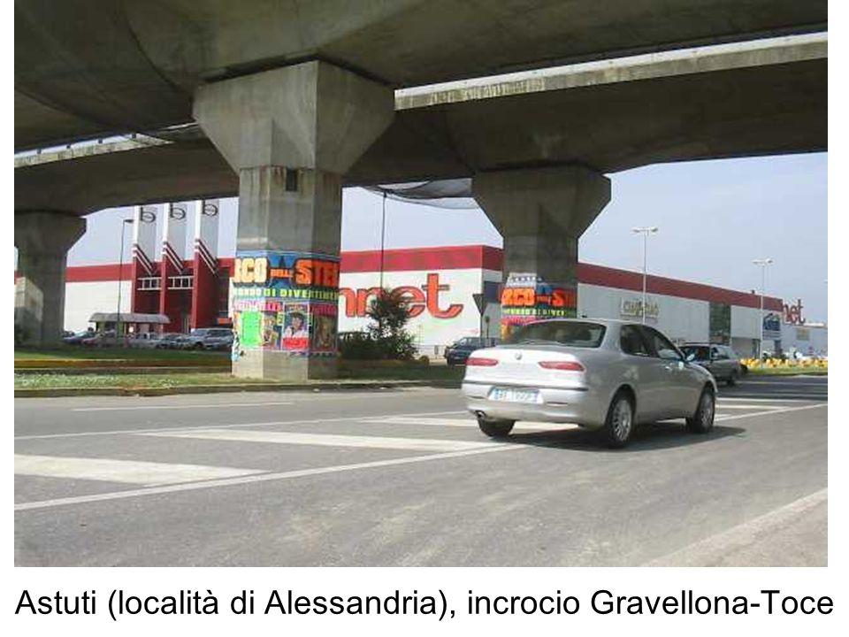 Astuti (località di Alessandria), incrocio Gravellona-Toce