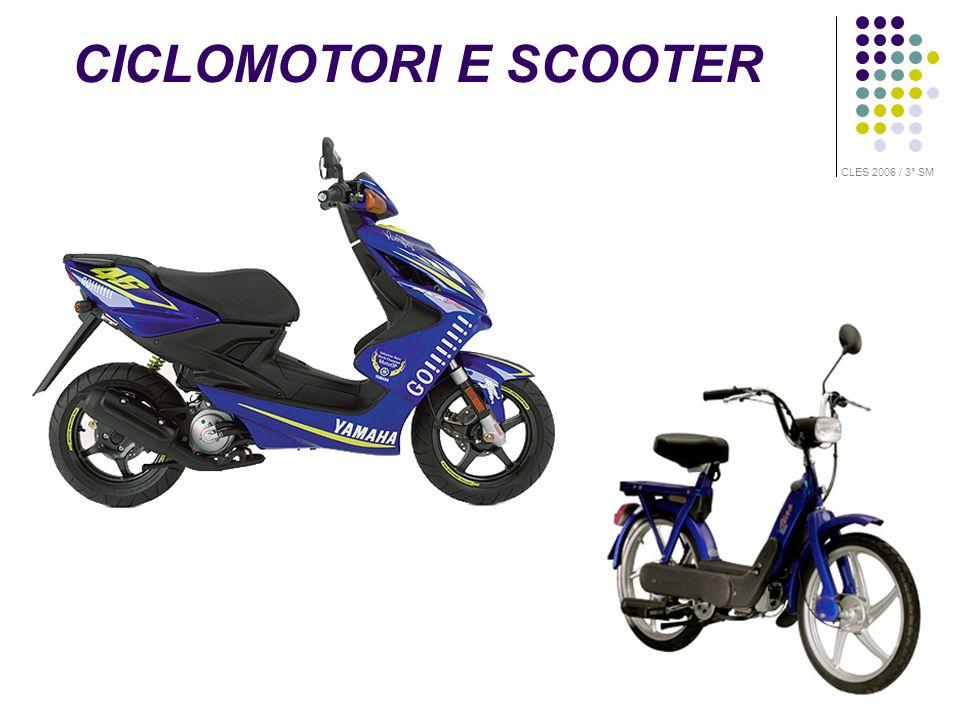CICLOMOTORI E SCOOTER CLES 2006 / 3° SM