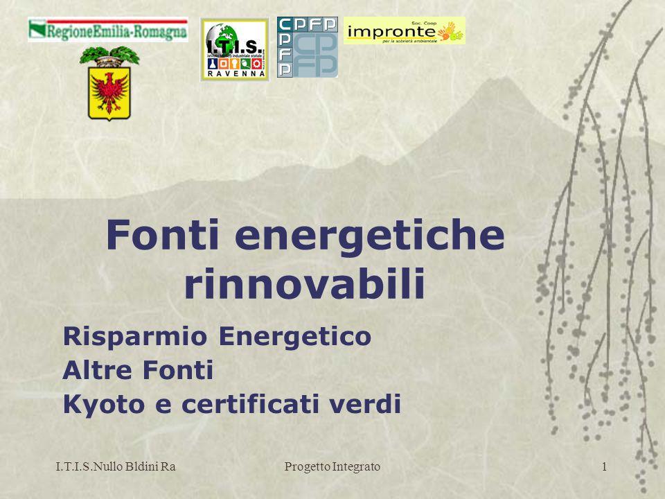 I.T.I.S.Nullo Bldini RaProgetto Integrato42 Elettrotecnica UNI ISO S