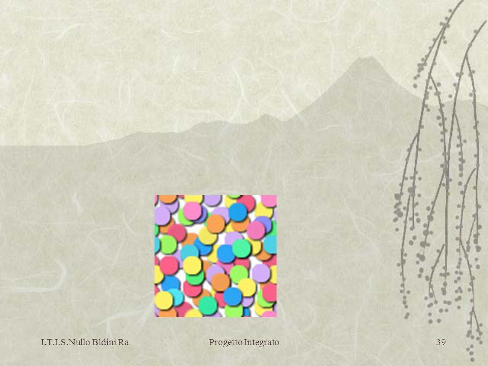 I.T.I.S.Nullo Bldini RaProgetto Integrato39