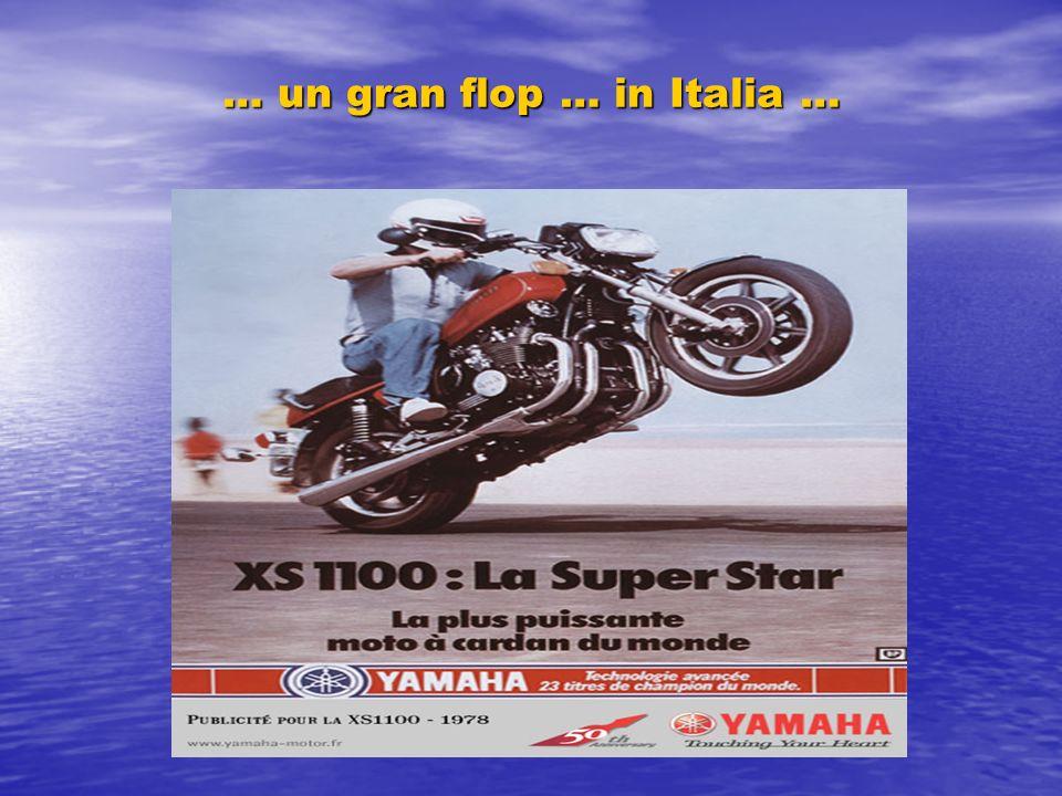 … un gran flop … in Italia …