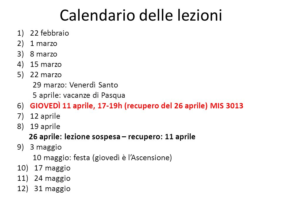 B.Castelli, Lettera a G. Galilei 14.XII.1613 (in OG, XI, 606) V.