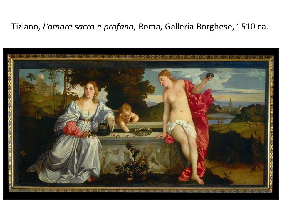 Tiziano, Lamore sacro e profano, Roma, Galleria Borghese, 1510 ca.