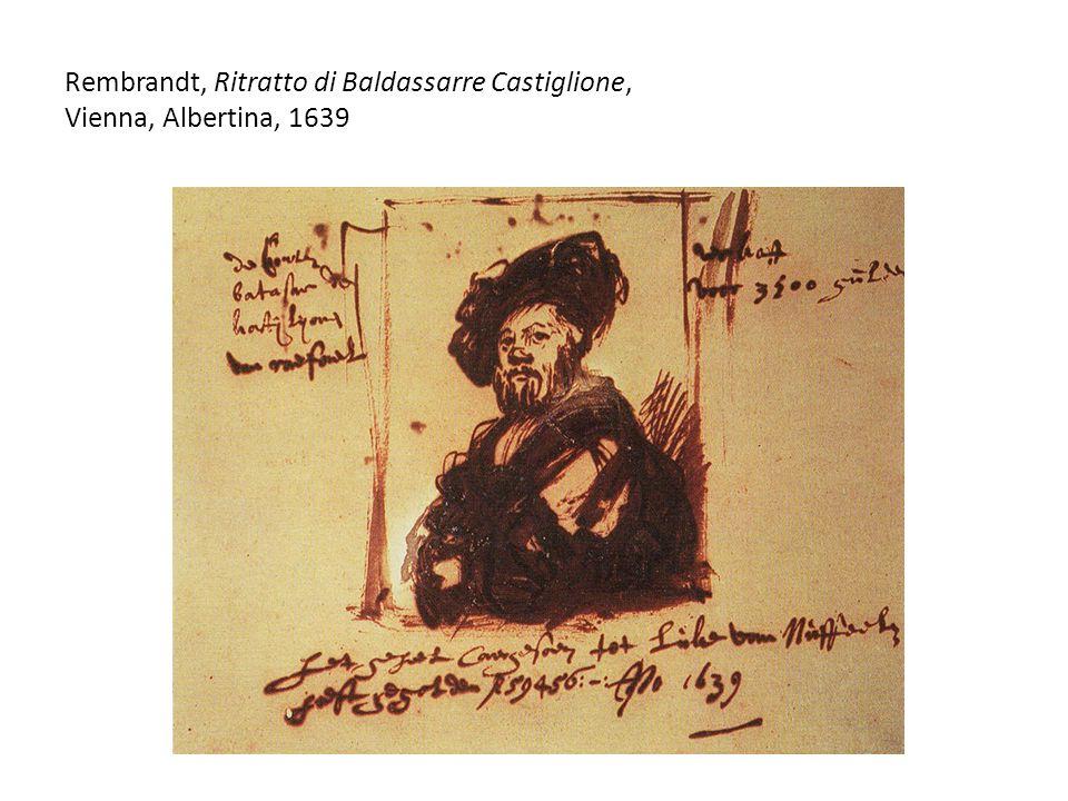 Rembrandt, Ritratto di Baldassarre Castiglione, Vienna, Albertina, 1639