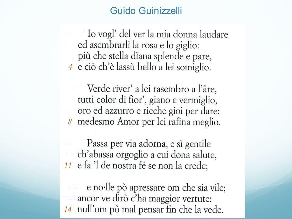 Guido Guinizzelli
