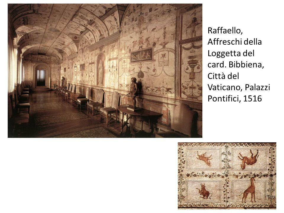Raffaello, Affreschi della Loggetta del card. Bibbiena, Città del Vaticano, Palazzi Pontifici, 1516