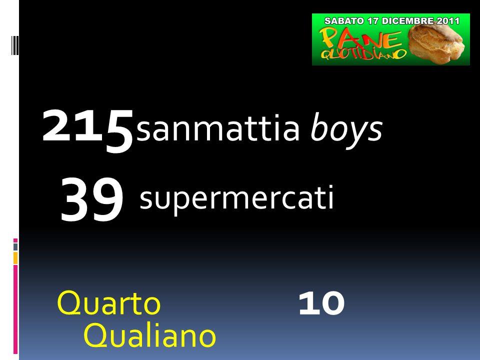 215 sanmattia boys 39 supermercati Pianura 15 Soccavo