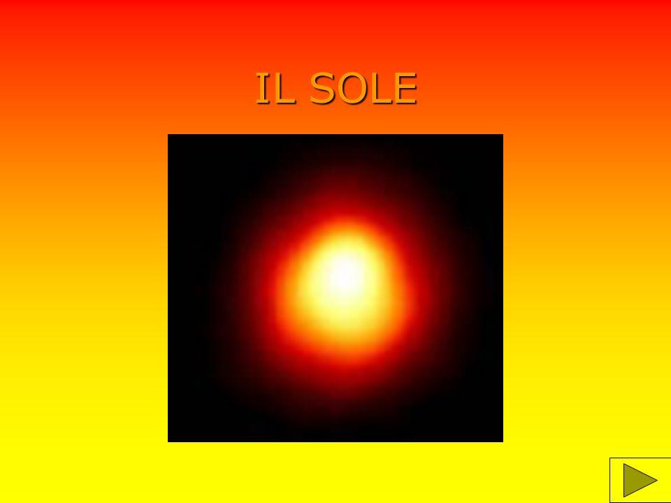 informazioni Il sole è una stella di media grandezza formata da sostanze aeriformi.