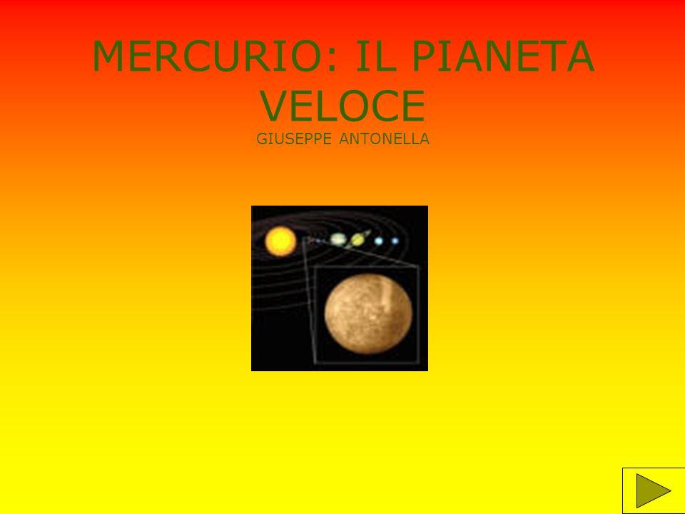 informazioni Mercurio è il pianeta più vicino al sole ed è più piccolo della terra.