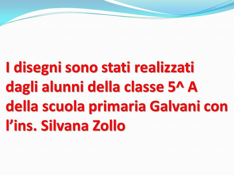 I disegni sono stati realizzati dagli alunni della classe 5^ A della scuola primaria Galvani con lins. Silvana Zollo