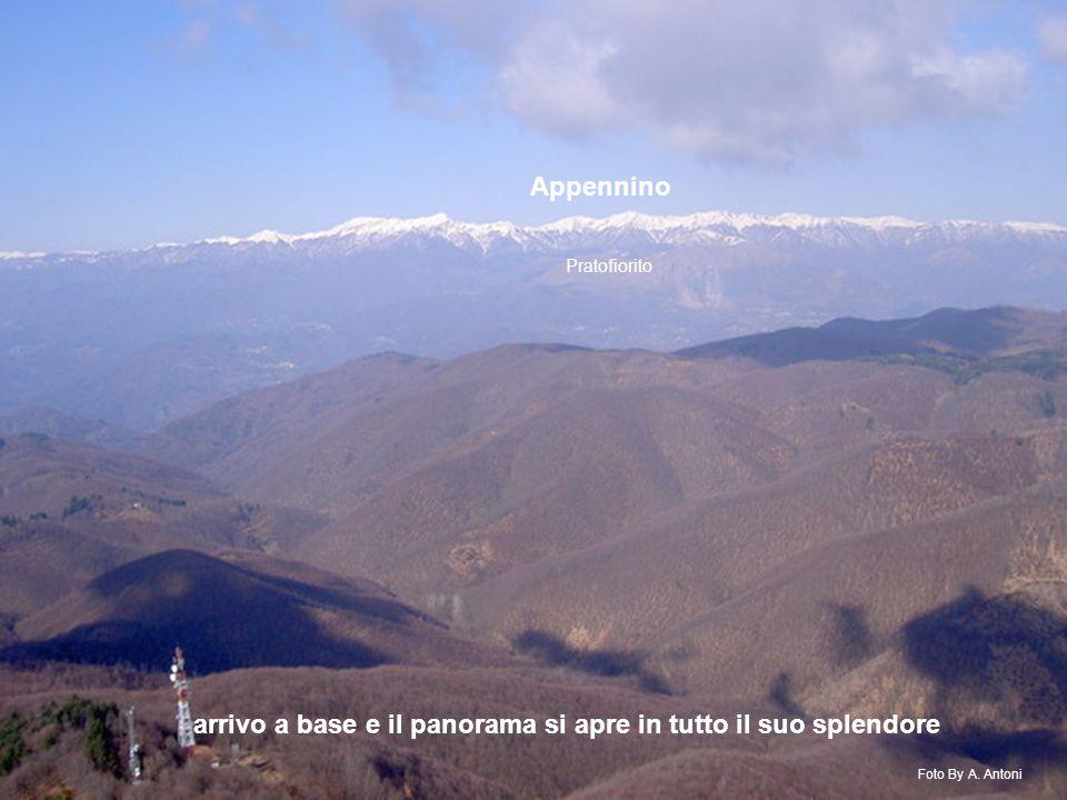 arrivo a base e il panorama si apre in tutto il suo splendore Appennino Pratofiorito Foto By A.
