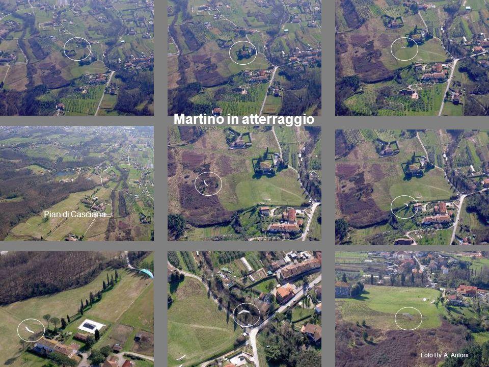 Martino in atterraggio Foto By A. Antoni Pian di Casciana