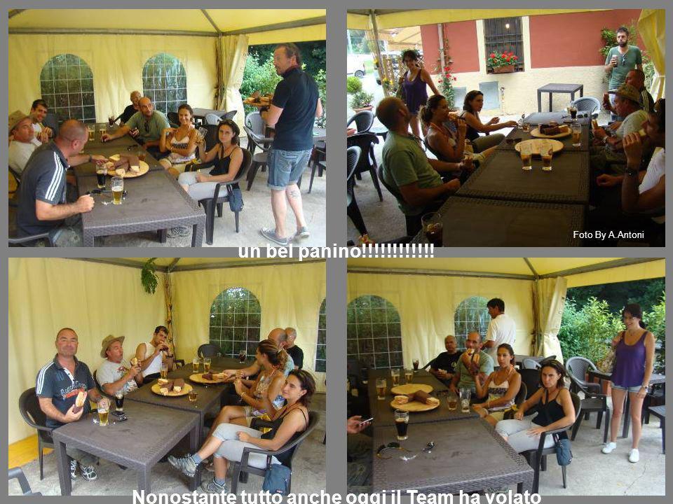 un bel panino!!!!!!!!!!!! Nonostante tutto anche oggi il Team ha volato Foto By A.Antoni