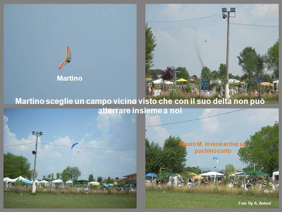 Martino Mauro M. invece arriva un pochino corto Foto By A.