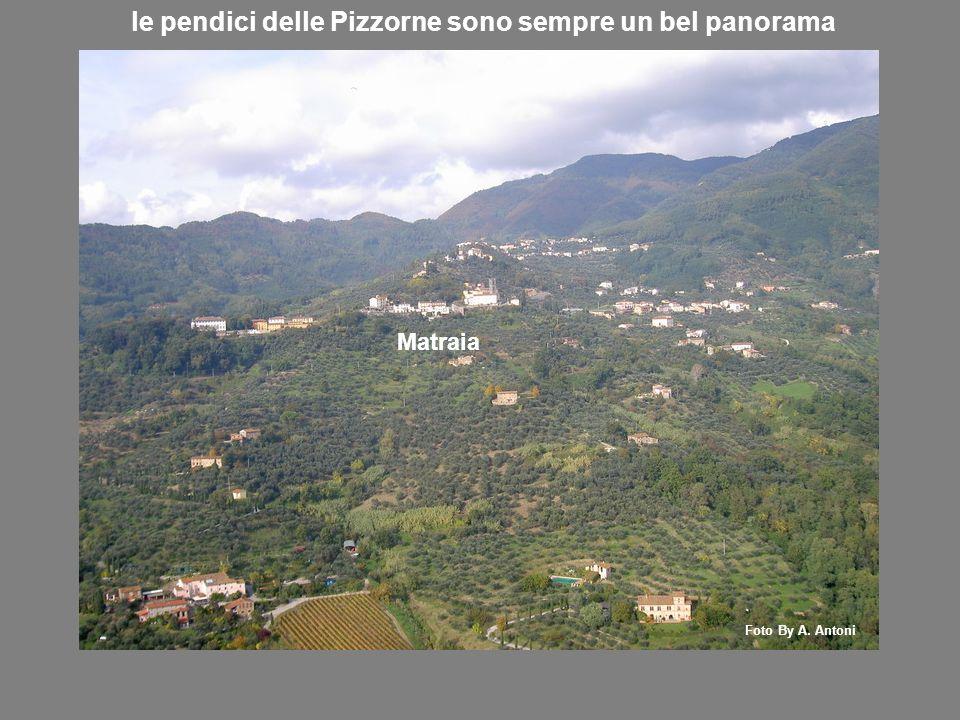 le pendici delle Pizzorne sono sempre un bel panorama Matraia Foto By A. Antoni
