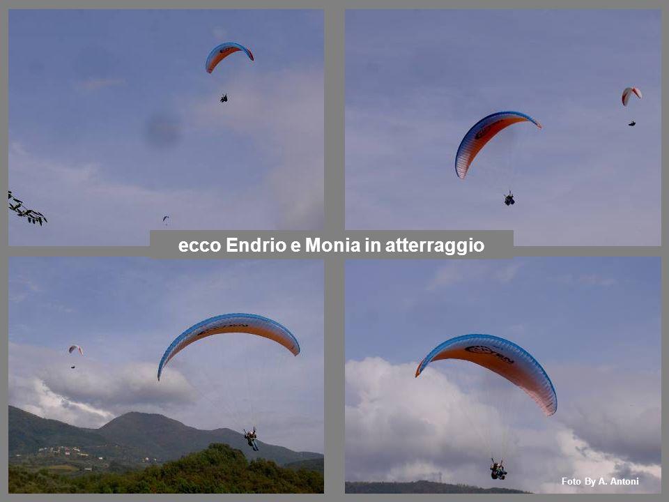 ecco Endrio e Monia in atterraggio Foto By A. Antoni