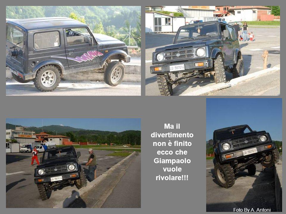 Ma il divertimento non è finito ecco che Giampaolo vuole rivolare!!! Foto By A. Antoni