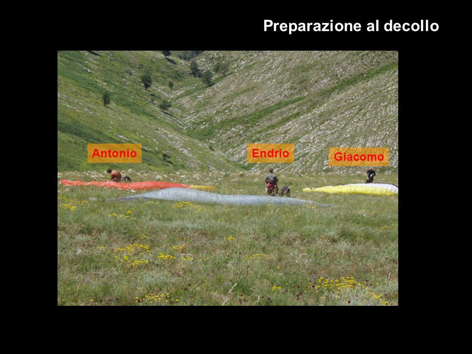 Preparazione al decollo AntonioEndrio Giacomo