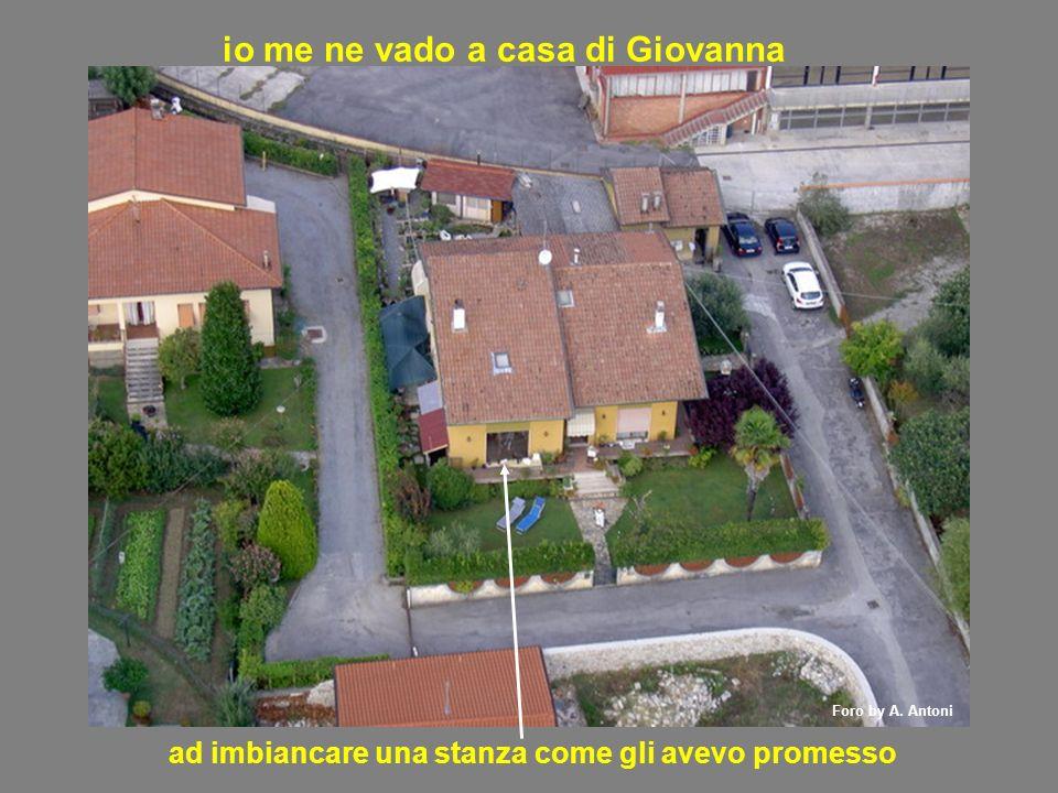 io me ne vado a casa di Giovanna ad imbiancare una stanza come gli avevo promesso Foro by A. Antoni