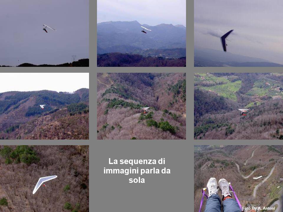 Stefano Pur essendo la giornata molto nuvolosa siamo riusciti a fare un bel volo Foto By A. Antoni