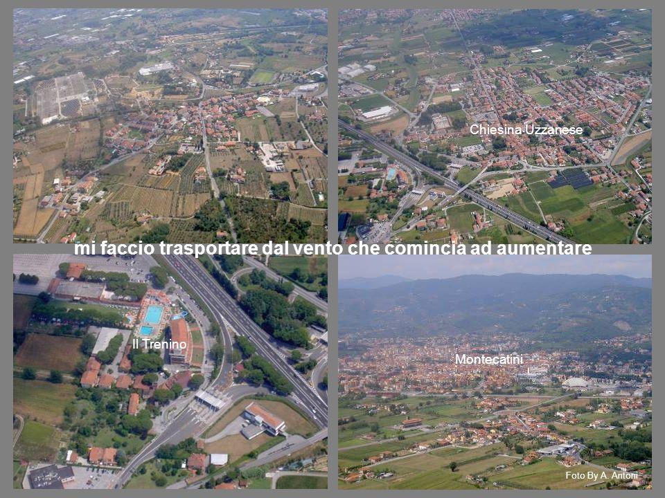 Chiesina Uzzanese Il Trenino Montecatini mi faccio trasportare dal vento che comincia ad aumentare Foto By A.