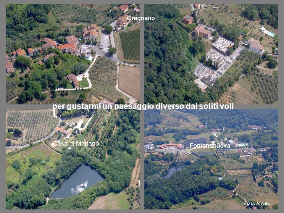 Gragnano Casa di Mariano Fontananuova per gustarmi un paesaggio diverso dai soliti voli Foto By A.
