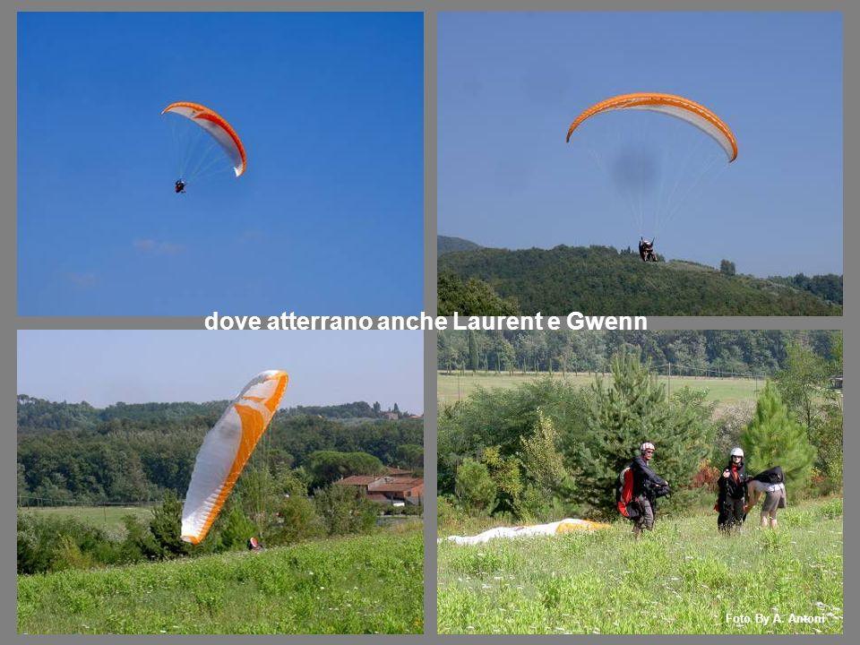 dove atterrano anche Laurent e Gwenn Foto By A. Antoni