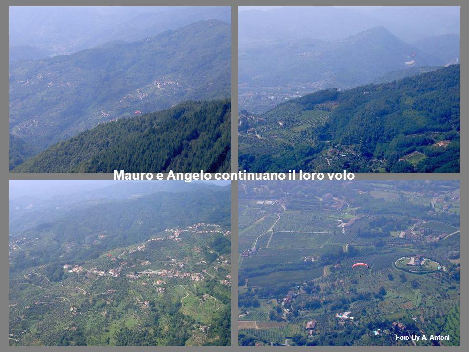 Mauro e Angelo continuano il loro volo Foto By A. Antoni
