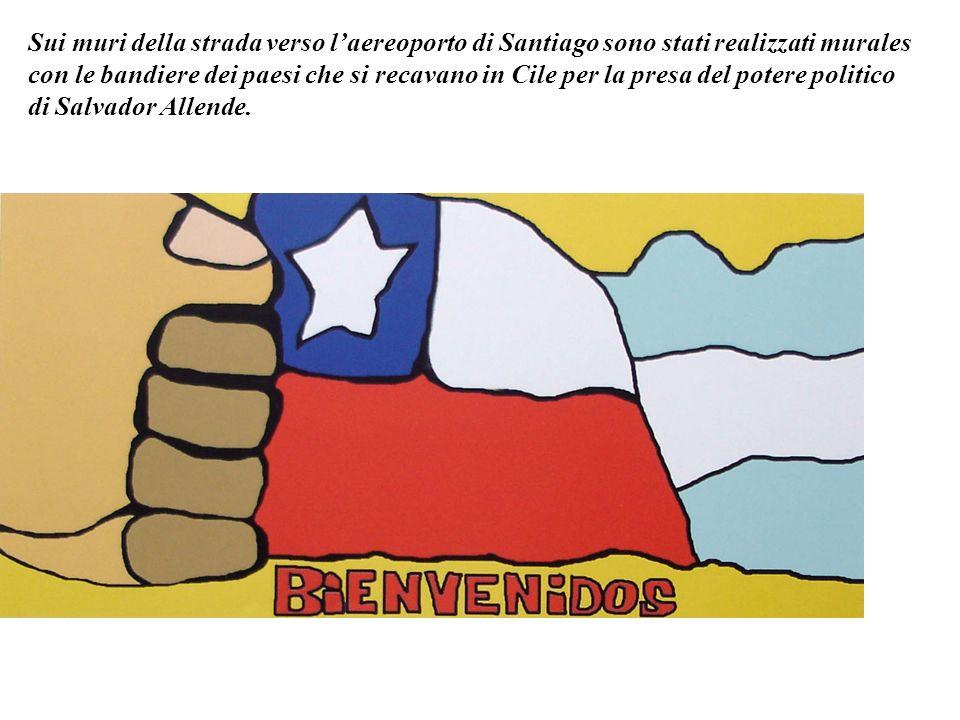 I murales cileni sono stati sempre anonimi, il che sta a significare che appartengono a tutti, a chi partecipa dipingendo e a chi li guarda.