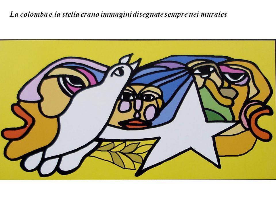 I tuoi occhi sono profondi come la terra. Lotto marzo, giorno internazionale della donna, sui muri delle città cilene sono apparsi molti murali con di