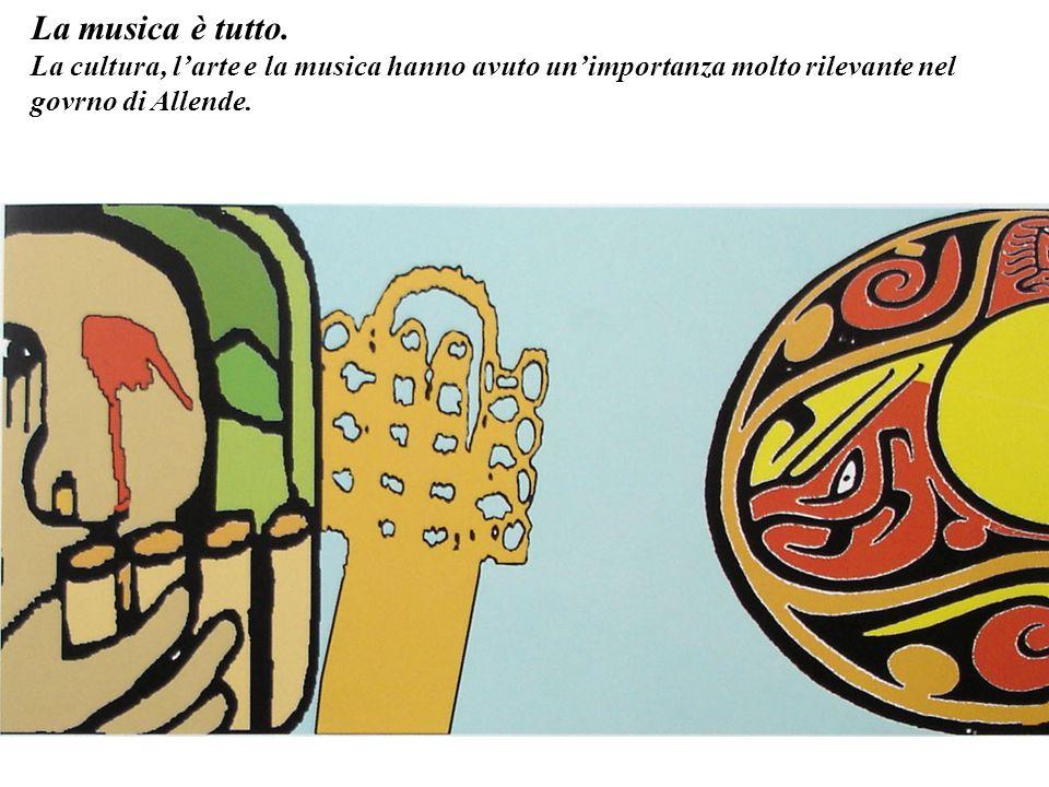 La colomba e la stella erano immagini disegnate sempre nei murales