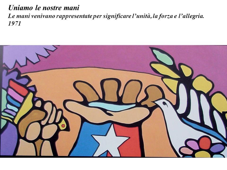 La musica è tutto. La cultura, larte e la musica hanno avuto unimportanza molto rilevante nel govrno di Allende.