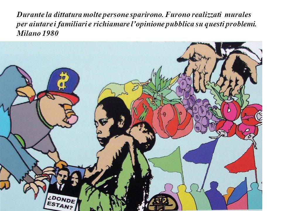 Manifestazione in occasione del 30° anniversario del colpo di stato in Cile. 2003 Salvador Allende