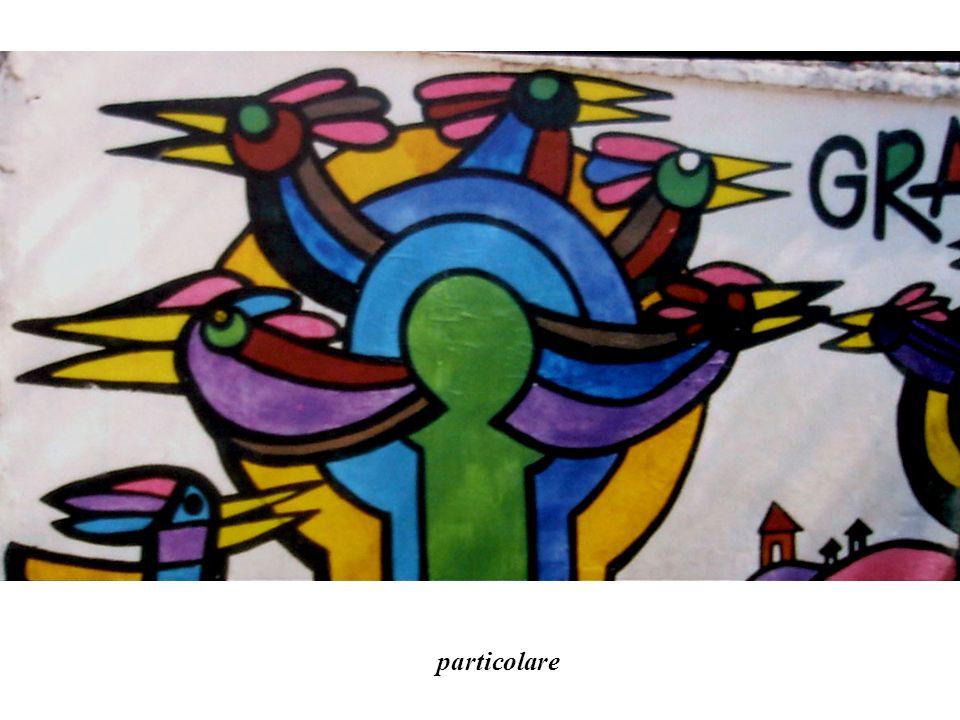 Murale realizzato per listituzione del Giorno nazionale del teatro Santiago 2003