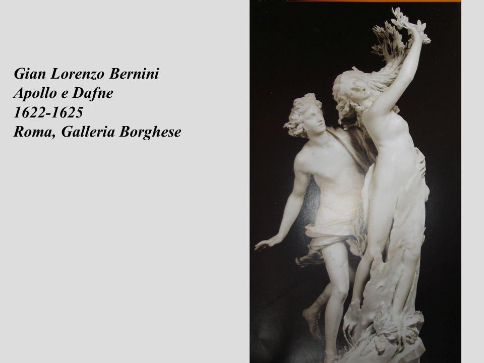 Gian Lorenzo Bernini Apollo e Dafne 1622-1625 Roma, Galleria Borghese