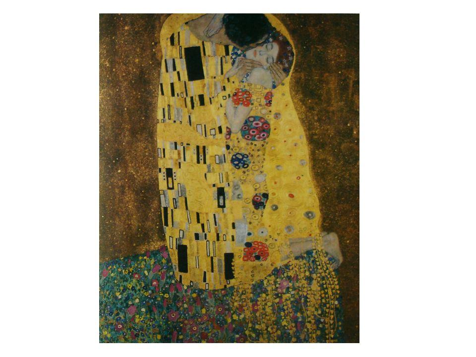 NOTIZIE GENERALI Autore Titolo Data di esecuzione Dimensioni Tecnica e supporto Collocazione soggetto Gustav Klimt Il bacio 1907-1908 180x180 Olio su tela Vienna, Osterreichische Galerie Una coppia