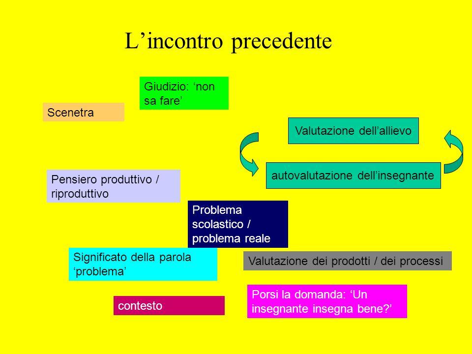 Laboratorio di Problemi Rosetta Zan Dipartimento di Matematica, Pisa zan@dm.unipi.it Scienze della Formazione, Polo di Livorno a.a.