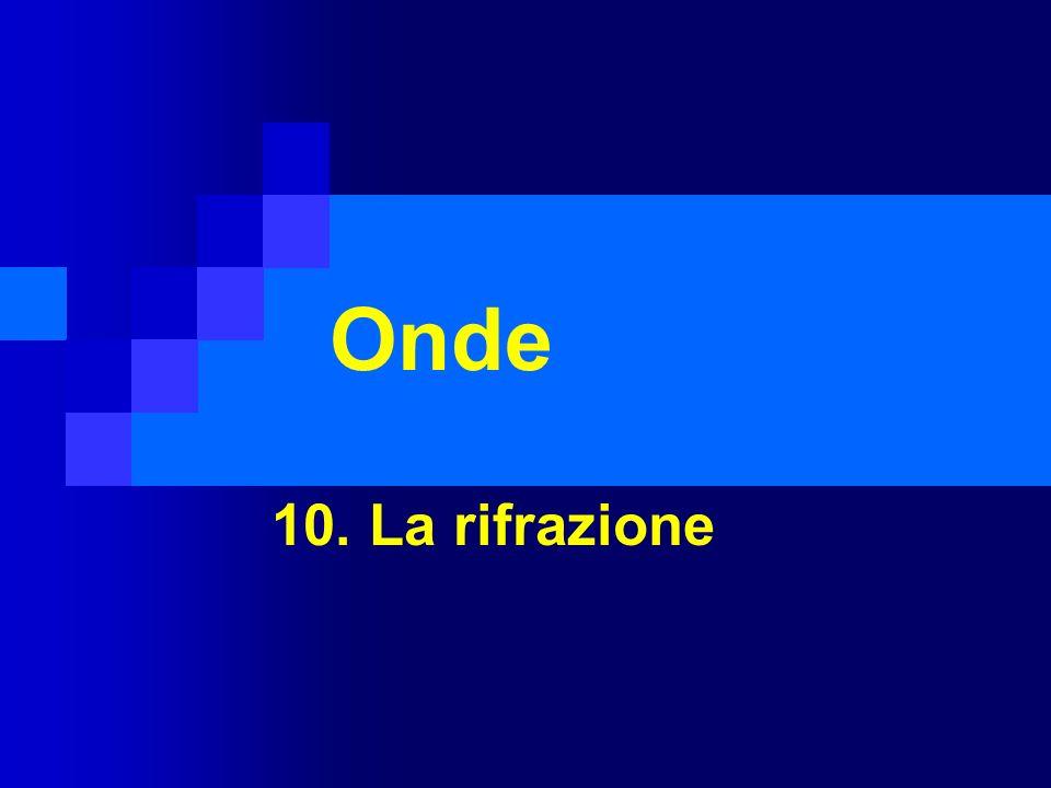 Onde 10. La rifrazione