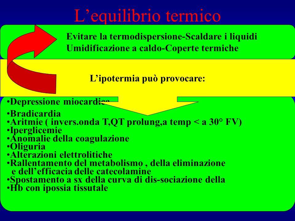 Lequilibrio termico E importante mantenere una temp. Int. Tra 35 e 37°C per: 1 Effettuare laccertamento di morte 2 Valutare correttamente la gettata c