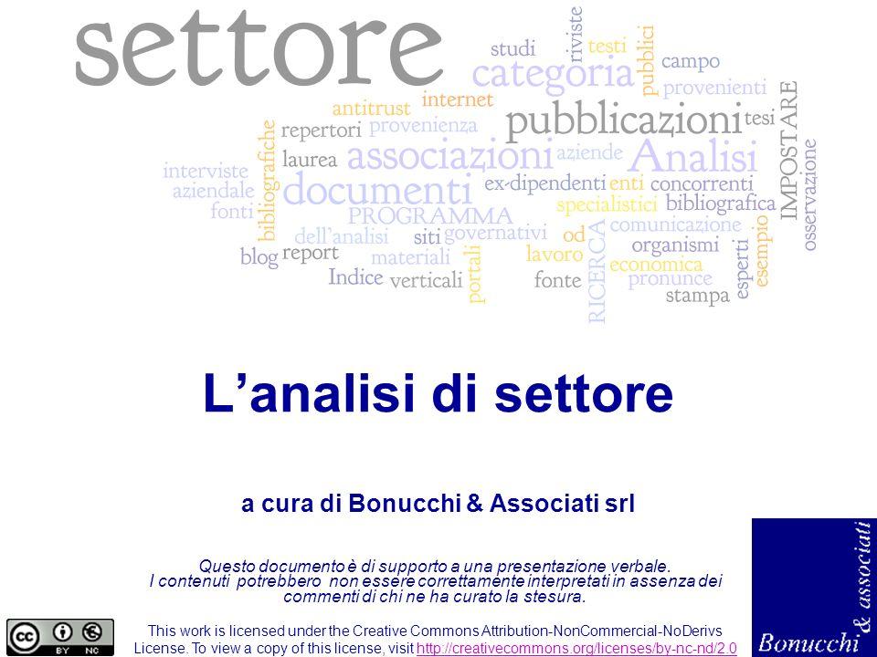 L analisi di settore 2 IL SEMINARIO DI OGGI Il ruolo della ricerca allinterno del business plan Lanalisi di settore: fasi, strumenti e tecniche