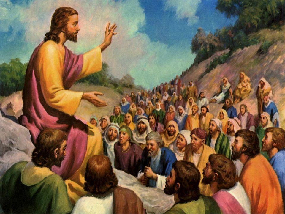 Vedendo le folle, Gesù salì sulla montagna e, messosi a sedere, gli si avvicinarono i suoi discepoli. Prendendo allora la parola, li ammaestrava dicen