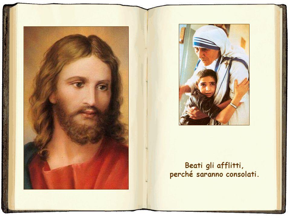 Beati gli operatori di pace, perché saranno chiamati figli di Dio.