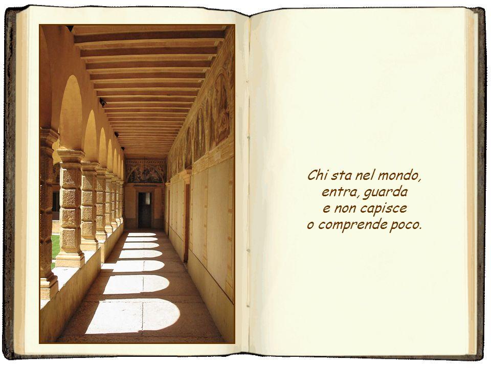 È frequente il fatto che, entrando nel parlatorio o nei lunghi corridoi dun convento, di recente o di antica fondazione, si veda sulle pareti la figur