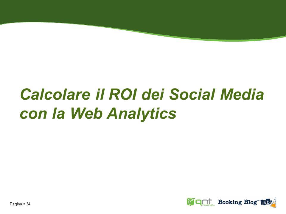 Calcolare il ROI dei Social Media con la Web Analytics Pagina 34