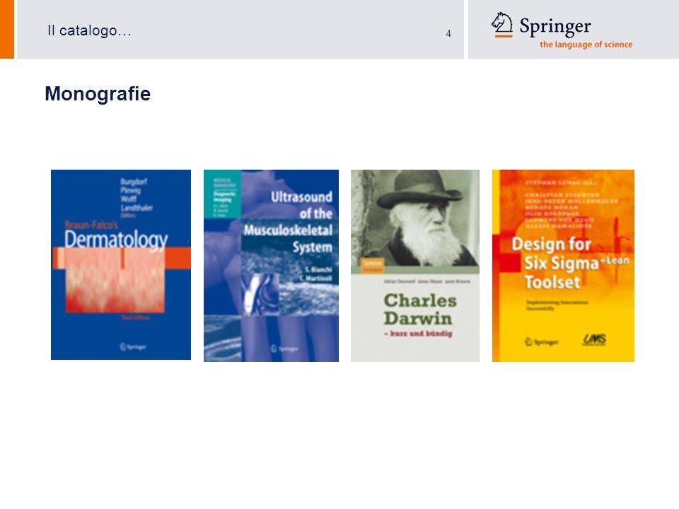 4 Monografie Il catalogo…